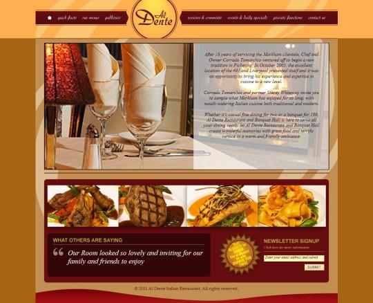 Al Dente Restaurant company